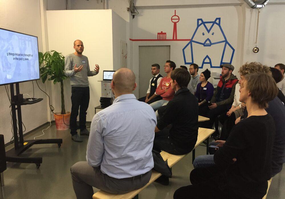Holacracy Meetup – Springests erster Meetup im neuen Büro