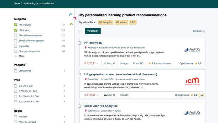 Custom learning suggestions