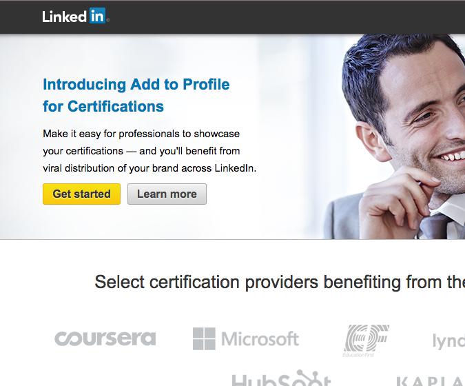 Linkedin lanceert certifications