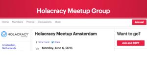 Holacracy Meetup Amsterdam bij Springest