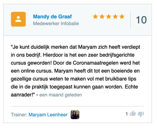 beste opleider van nederland 2021